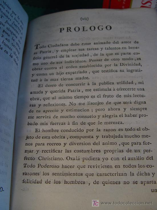 Libros antiguos: GOBIERNO DEL HOMBRE POR LA RAZON - PARTE I - LORENZO BORDELON - 1786 - VDA. DE IBARRA - MADRID - - Foto 4 - 176187763