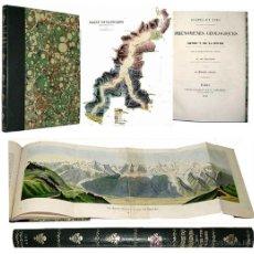 Libros antiguos: 1839 - DE LA BECHE MUY IMPORTANTE - COUPES ET VUES PHENOMENES GEOLOGIQUES. Lote 12093533