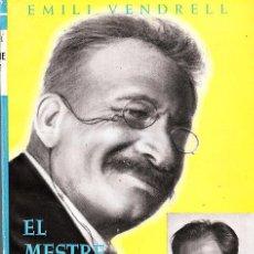Libros antiguos: LLIBRE EL MESTRE MILLET I JO PER EMILI VENDRELL. Lote 12214431