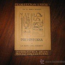Libros antiguos: PREHISTORIA III LA EDAD DEL HIERRO . Lote 12238448