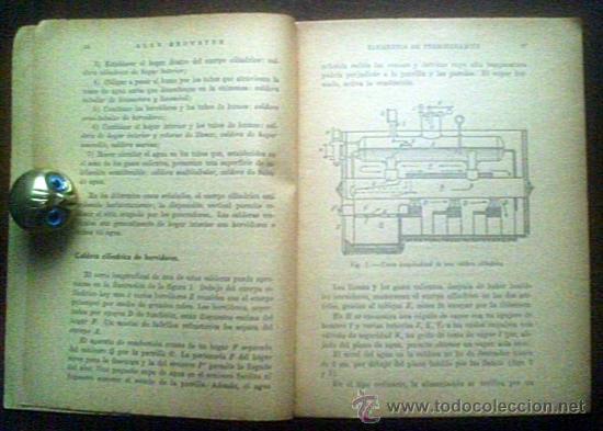 Libros antiguos: ELEMENTOS DE TERMODINAMICA.ALAN BROWSTER - Foto 2 - 26035624