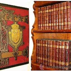 Libros antiguos: 1880 COMPLETA HISTORIA DE ESPAÑA - MODESTO LAFUENTE EN 25 TOMOS LIBROS GUERRA CIENCIA ARTE LUJOSA. Lote 20811963