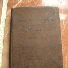 Libros antiguos: PEQUEÑO MANUAL DEL TINTORERO. Lote 26659643