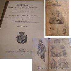 Libros antiguos: 1851 HISTORIA GENERAL NATURAL DE LAS INDIAS OVIEDO 4 TOMOS CUBA COMPLETO LIBROS FABULOSOS GRABADOS. Lote 26005411