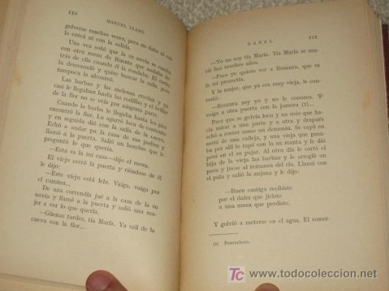 Libros antiguos: Rabel (leyendas), por Manuel Llano, Primera Edición, Santander 1934. - Foto 3 - 26666390