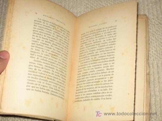 Libros antiguos: Retablo infantil, por Manuel Llano, Primera Edición, Santander 1935, Prólogo de M. de Unamuno - Foto 4 - 26666389