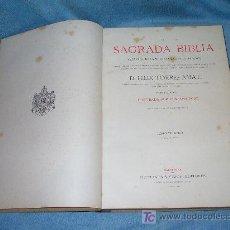 Libros antiguos: LA SAGRADA BIBLIA - D.FELIX TORRES AMAT - AÑO 1883 - MONUMENTAL OBRA ILUSTRADA POR GUSTAVO DORE.. Lote 27531717