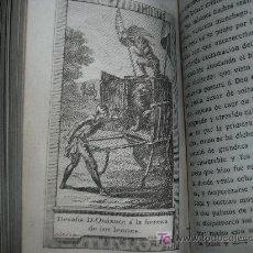 Libros antiguos: 1798 EL INGENIOSO HIDALGO DON QUIXOTE DE LA MANCHA. CERVANTES. IMPRENTA REAL. TOMO 4. GRABADOS. RARO. Lote 27119471