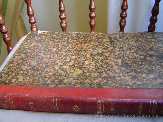 1853 DICCIONARIO ILUSTRADO DE ARTILLERIA (Libros Antiguos, Raros y Curiosos - Ciencias, Manuales y Oficios - Otros)