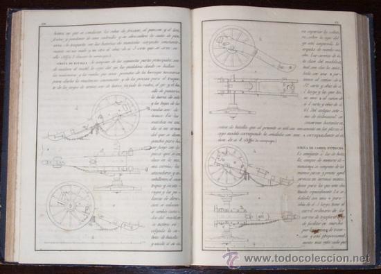 Libros antiguos: 1853 DICCIONARIO ILUSTRADO DE ARTILLERIA - Foto 3 - 26270489