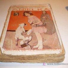 Libros antiguos: ANIELKA - BEBESLAO PRUS - BIBLIOTECA DE NOVELA MORALES Y AMENA - LIB. DE AJANDRO PUEYO (1922). Lote 13031040