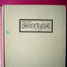 Libros antiguos: RAFAEL MONTESINOS - BECQUER- BIOGRAFÍA E IMAGEN. BARCELONA. Lote 27549576