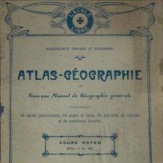 Libros antiguos: ATLAS GEOGRAPHIE 1917. Lote 13154689