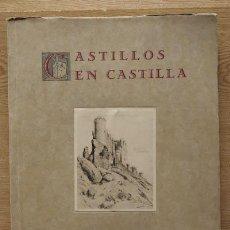Libros antiguos: CASTILLOS EN CASTILLA. GAMAZO (CONDE DE). Lote 21240257