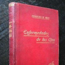Libros antiguos: MANUAL DE LAS ENFERMEDADES DE LOS OJOS, POR CHARLES H. MAY, 1922. Lote 26186145