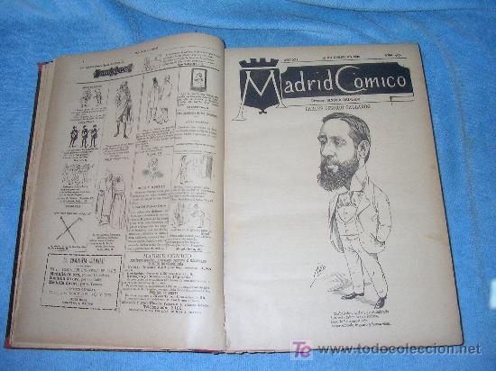 Libros antiguos: MADRID COMICO-AÑOS 1892-1893 COMPLETOS-EXCEPCIONAL. - Foto 2 - 26815916