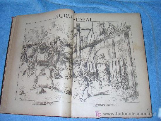 Libros antiguos: MADRID COMICO-AÑOS 1892-1893 COMPLETOS-EXCEPCIONAL. - Foto 4 - 26815916