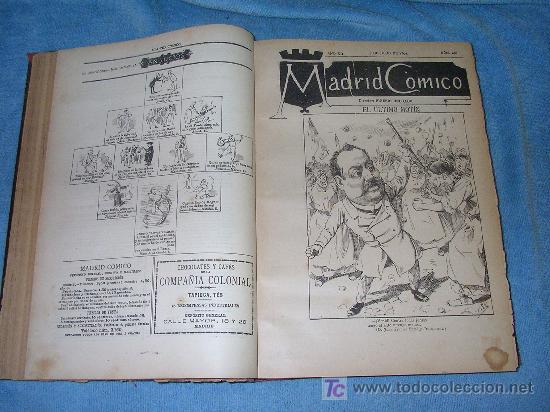 Libros antiguos: MADRID COMICO-AÑOS 1892-1893 COMPLETOS-EXCEPCIONAL. - Foto 5 - 26815916