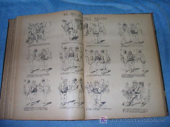 Libros antiguos: MADRID COMICO-AÑOS 1892-1893 COMPLETOS-EXCEPCIONAL. - Foto 6 - 26815916