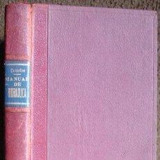 Libros antiguos: MANUAL DE HIDRAULICA, POR CESPEDES, GUILLERMO. 1928. Lote 26954854