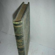 Libros antiguos: MANUAL DE LOS LIQUIDOS, 1868, LEBEUF, VINOS, ALCOHOLES, ENOLOGIA. Lote 27201194