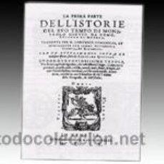 Libros antiguos: IMPORTANTE LIBRO DE HISTORIA EUROPEA DEL SIGLO XVI. Lote 13449850