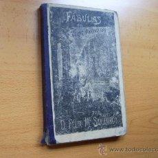Libros antiguos: FABULAS EN VERSO CASTELLANO - D. FELIX Mª SAMANIEGO - EDITORIAL HERNANDO AÑO 1926 - . Lote 24708657