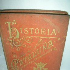 Libros antiguos: HISTORIA DE CATALUÑA, 1898, BORI Y FONTESTA.. Lote 27012046