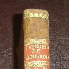Libros antiguos: SERMONES PANEGIRICOS DE S.F.RENÉ- 2ªIMPRESION - TOMO 3-MADRID 1796. Lote 14448040