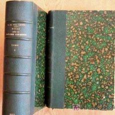 Libros antiguos: HISTOIRE D'ESPAGNE ET DE PORTUGAL, DEPUIS LES TEMPS LES PLUS RECULÉS JUSQU'À NOS JOURS. PAQUIS ET DO. Lote 18400803