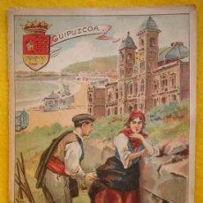 Libros antiguos: GUIPUZCOA. DESCRIPCIÓN FISICO POLÍTICA. 1902. Lote 13740425
