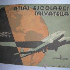 Libros antiguos: GEGRAFIA UNIVERSAL, ATLAS ESCOLARES SALVATELLA. Lote 23953921