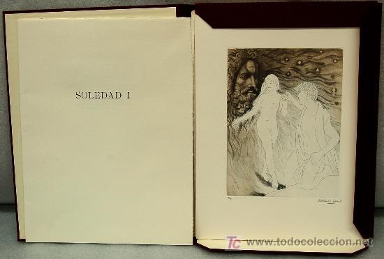 SOLEDAD I, IMPORTANTE LIBRO BIBLIÒFIL CON 13 GRABADOS ORIGINALES DE ALBERTO DUCE (Libros Antiguos, Raros y Curiosos - Bellas artes, ocio y coleccionismo - Otros)