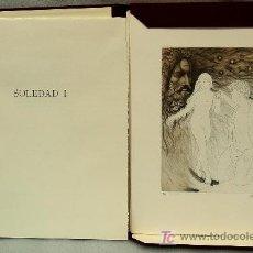 Libros antiguos: SOLEDAD I, IMPORTANTE LIBRO BIBLIÒFIL CON 13 GRABADOS ORIGINALES DE ALBERTO DUCE. Lote 26695748