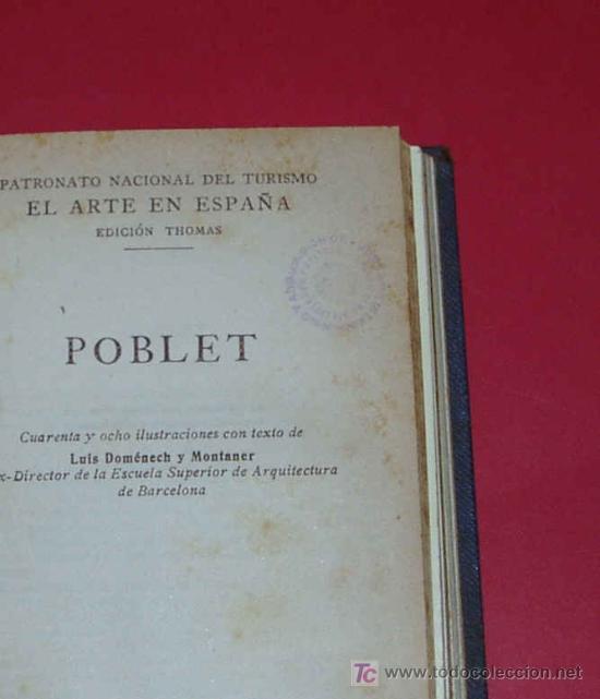 Libros antiguos: ENCUADERNACION DE LOS VOLUMENES 7, 11, 12 Y 32 DE EL ARTE EN ESPAÑA. - Foto 5 - 27595866