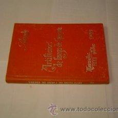Libros antiguos: 1900 ARTIFICIOS DE FUEGO DE GUERRA JOSE DE LOSSADA Y CANTERAC. Lote 27111829