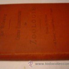 Libros antiguos: COURS ELEMENTAIRE DE ZOOLOGIE MUY ILUSTRADO. Lote 26336792