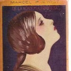 Libros antiguos: MARCEL PREVOST: FEDERICA (LAS VÍRGENES FUERTES) (MADRID, HACIA 1915) EDITORIAL RENACIMIENTO. Lote 23803503
