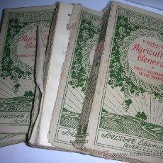 Libros antiguos: ENCICLOPEDIA AGRICOLA, WERY, 1928, 4 TOMOS. Lote 27273530