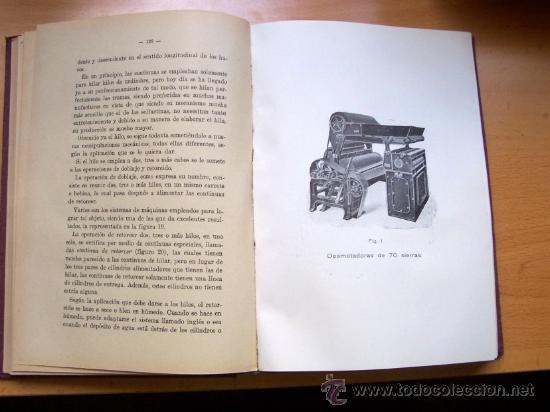 Libros antiguos: HILATURA DEL ALGODON - A. CASTELLS BRASES - CASA EDIT. FELIU Y SUSANNA - AÑO 1927 - Foto 2 - 26181565