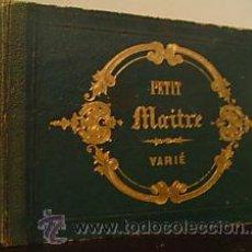 Libros antiguos: GRABADOS CIRCA 1860 LE PETIT MAITRE DE DESSIN SIMON BACON ET COMP. PARIS 15,5 X 11 CMS. 24 GRABADOS. Lote 27445871