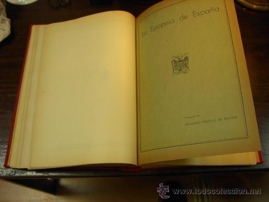 Libros antiguos: Francisco Franco. A epopeia de Espanha. Documentario grafico descriptivo e historico dedicado ao - Foto 4 - 14406109