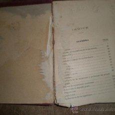 Libros antiguos: ÁLGEBRA Y TRIGONOMETRIA, 200 PÁGINAS APROX. ESCRITO A MANO PONE 1927. Lote 14514834