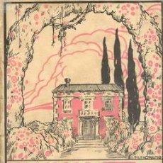 Libros antiguos: 1923 EL CHALET DE LAS ROSAS RAMON GOMEZ DE LA SERNA 1ª EDICION. Lote 25473264