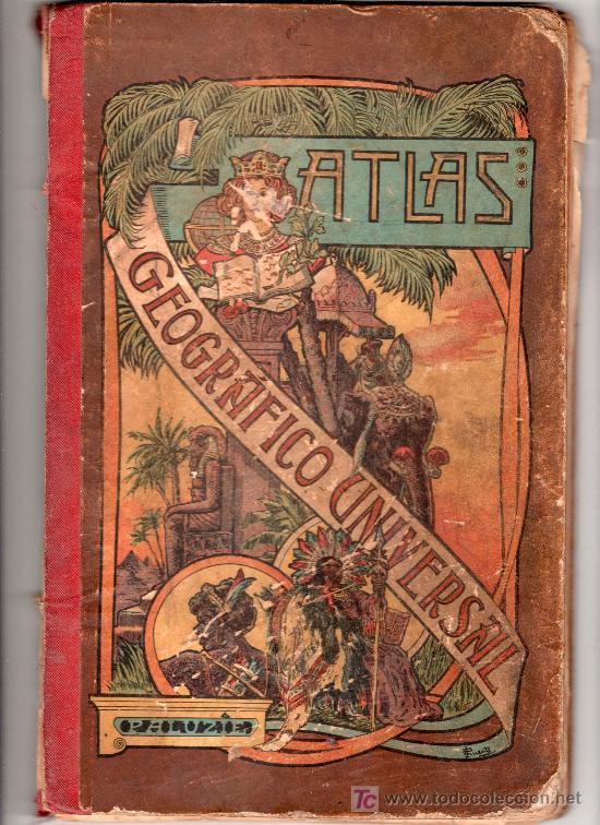 ATLAS GEOGRAFICO UNIVERSAL POR JOSE PALUZIE Y LUCENA. EDITORES HIJOS DE PALUZIE. BARCELONA 1903 (Libros Antiguos, Raros y Curiosos - Historia - Otros)