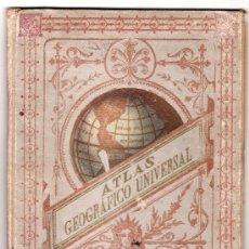 Libros antiguos: ATLAS GEOGRAFICO UNIVERSAL POR ESTEBAN PALUZIE. LITOGRAFIA DE FAUSTINO PALUZIE. BARCELONA 1886. Lote 16844836