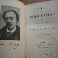 Libros antiguos: LE BUREAU DU COMMISSAIRE. MOINAUX (JULES) PARIS, JULES LÉVY, 1886. Lote 27256614