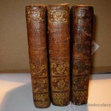 Alte Bücher - HISTORIA DE LA CONQUISTA DE MEXICO DE ANTONIO SOLIS AÑO 1770 - - 25072728