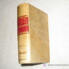 Libros antiguos: CERVANTES - NOVELAS EJEMPLARES - AÑO 1881 - , ENCUADERNACION EN PERGAMINO. Lote 14967450