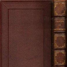 Libros antiguos: FIN XIX - FABULAS DE LA FONTAINE - EDICIÓN ILUSTRADA POR DAVID, JOHANNOT, ADAM, GRENIER Y SCHAAL. Lote 27409368